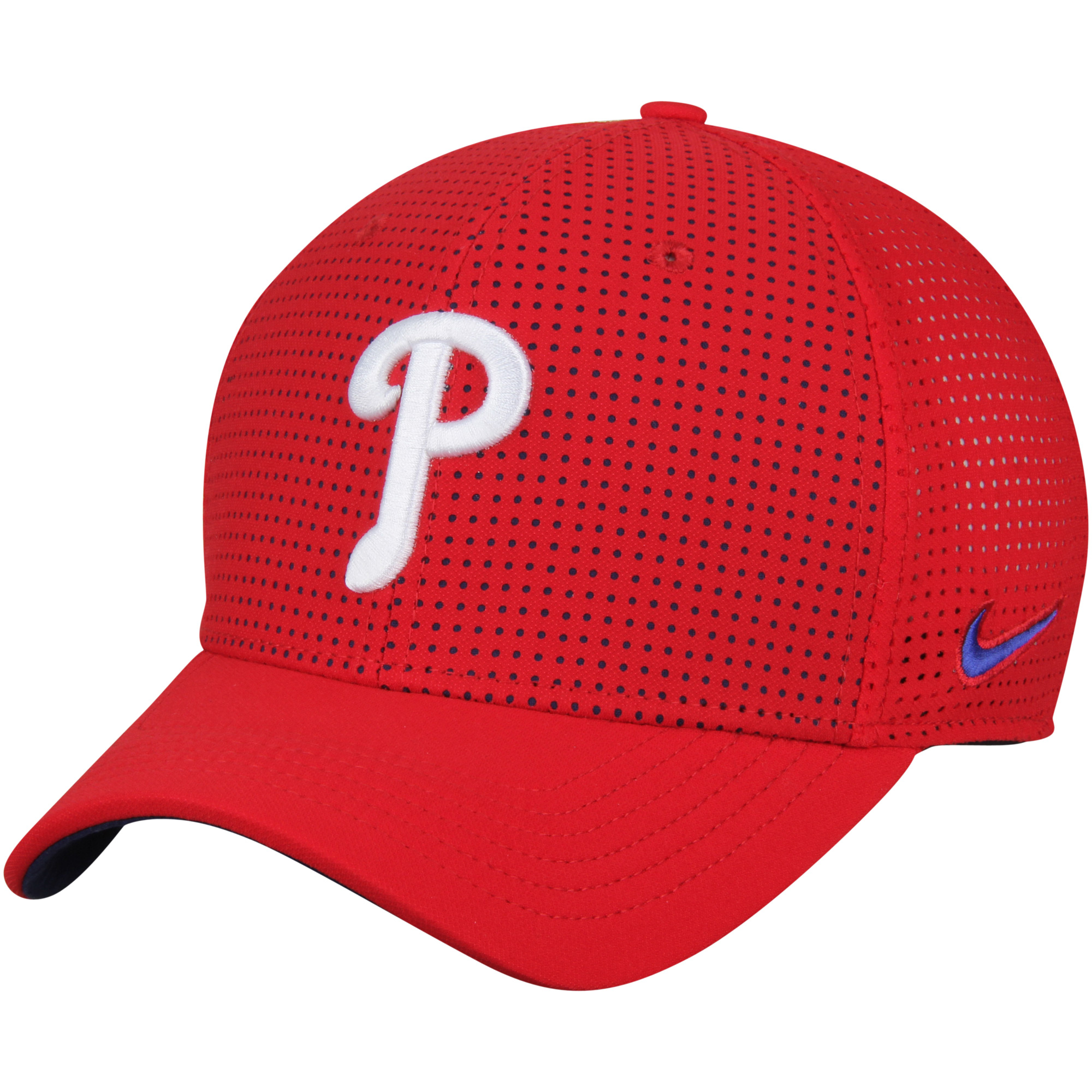 Philadelphia Phillies Nike AeroBill Classic 99 Performance Adjustable Hat - Red - OSFA