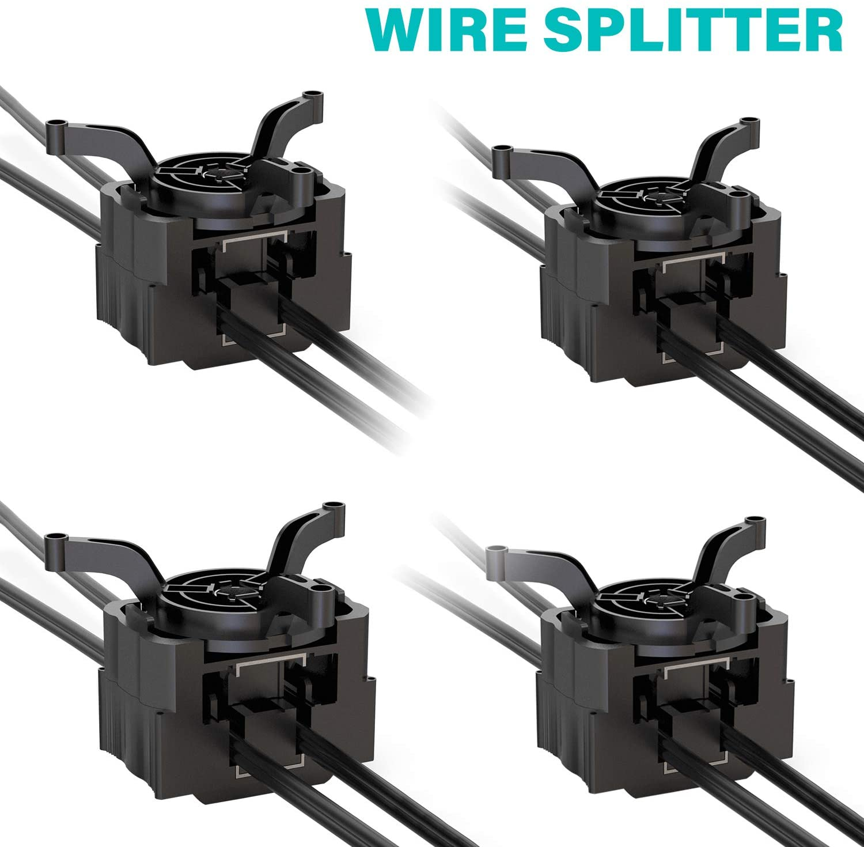 Malibu Wire Connector For Low Voltage Wire Splitter 4 Pack Outdoor Landscape Lighting Terminal Connectors Walmart Com Walmart Com