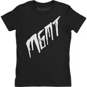 MGMT Scratch On Black Girls Jr Soft tee Large Black