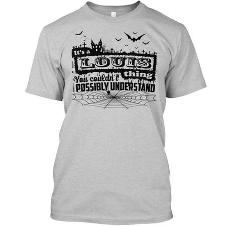 LOUIS - HALLOWEEN Hanes Tagless Tee T-Shirt