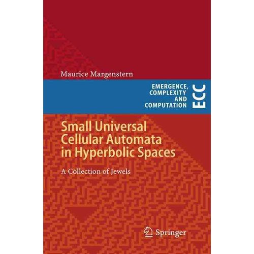 Small Universal Cellular Automata in Hyperbolic Spaces: A Collection of Jewels