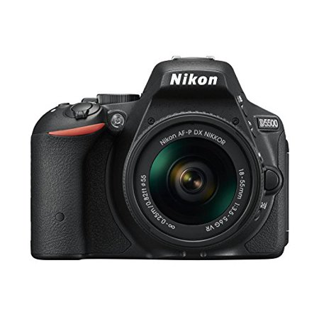 Nikon D5500 24 2Mp Digital Slr With Af P 18 55Mm Vr Lens  Black