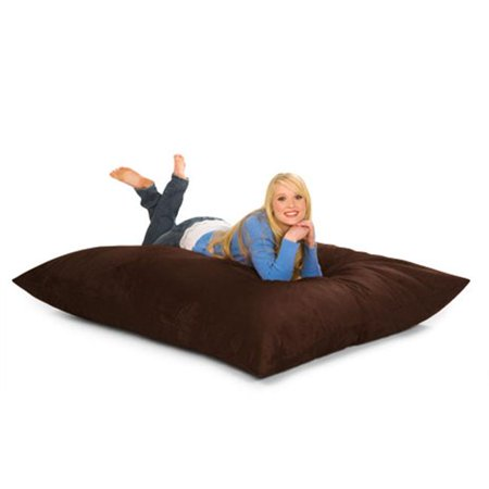 RelaxSacks 6PL-MS002 6 ft. Relax Pillow Sack - Microsuede - Shark Sack