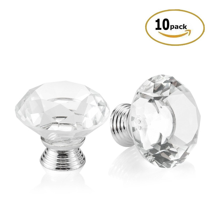 glass drawer knobs crystal dresser knobs and pulls glass cabinet knobs16 knobs