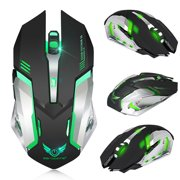 Rechargeable X70 2.4GHz 7 Color LED Backlit Bluetooth Wireless USB Optical Gaming Mouse Mice For Computer Laptop