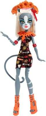 Monster High Ghouls' Getaway Meowlody Doll by Mattel