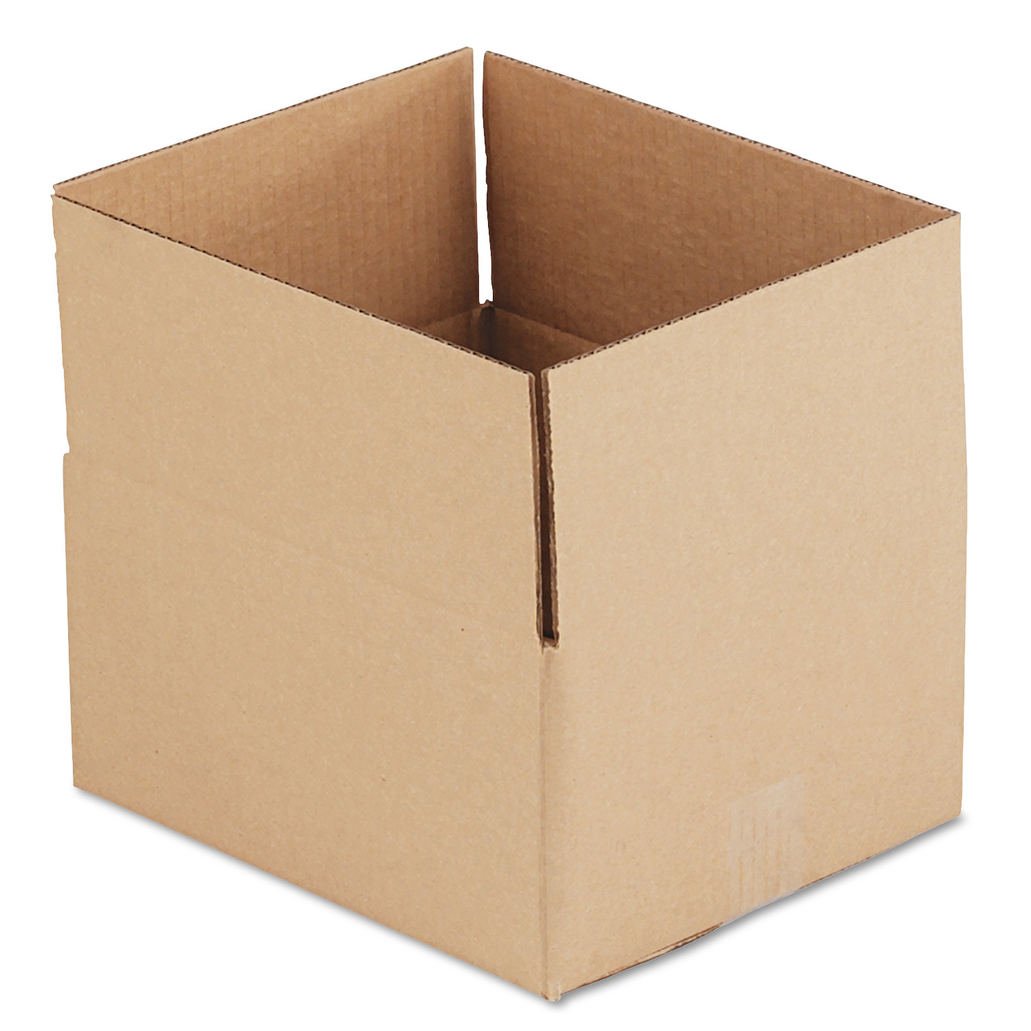 General Supply Brown Corrugated - Fixed-Depth Shipping Boxes, 12l x 10w x 6h, 25/Bundle -UFS12106
