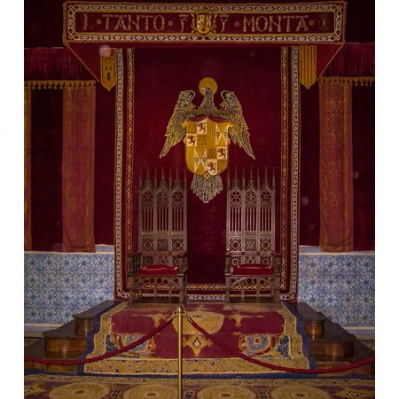 Peel-n-Stick Poster of Palace King Spain Museum Room Kings Throne Poster 24x16 Adhesive Sticker Poster Print