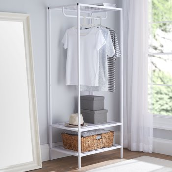 Mainstays Modern Farmhouse Slim Garment Rack
