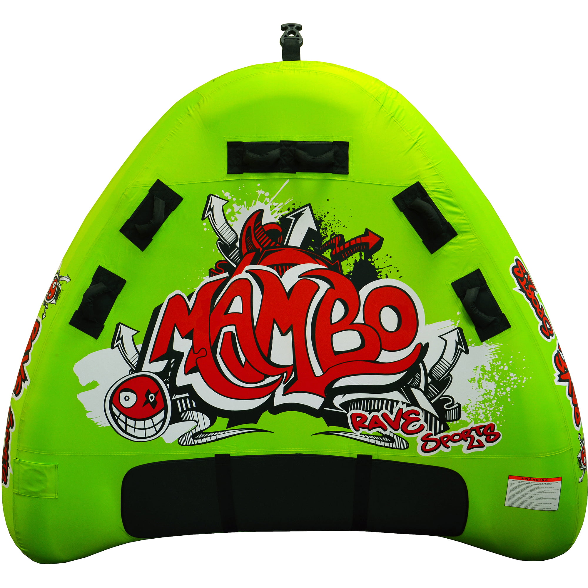 Rave Sports Mambo Swept Wing Deck 3-Rider Tube Towable by Rave Sports