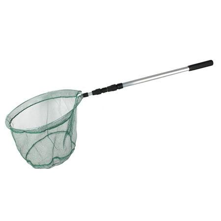 Unique bargains 50 x 1 nylon 3 sections telescopic for Fishing net walmart
