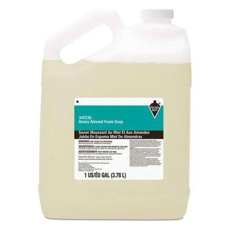 TOUGH GUY Honey Almond Foam Hand Soap, 1 gallon Pour Bottle -
