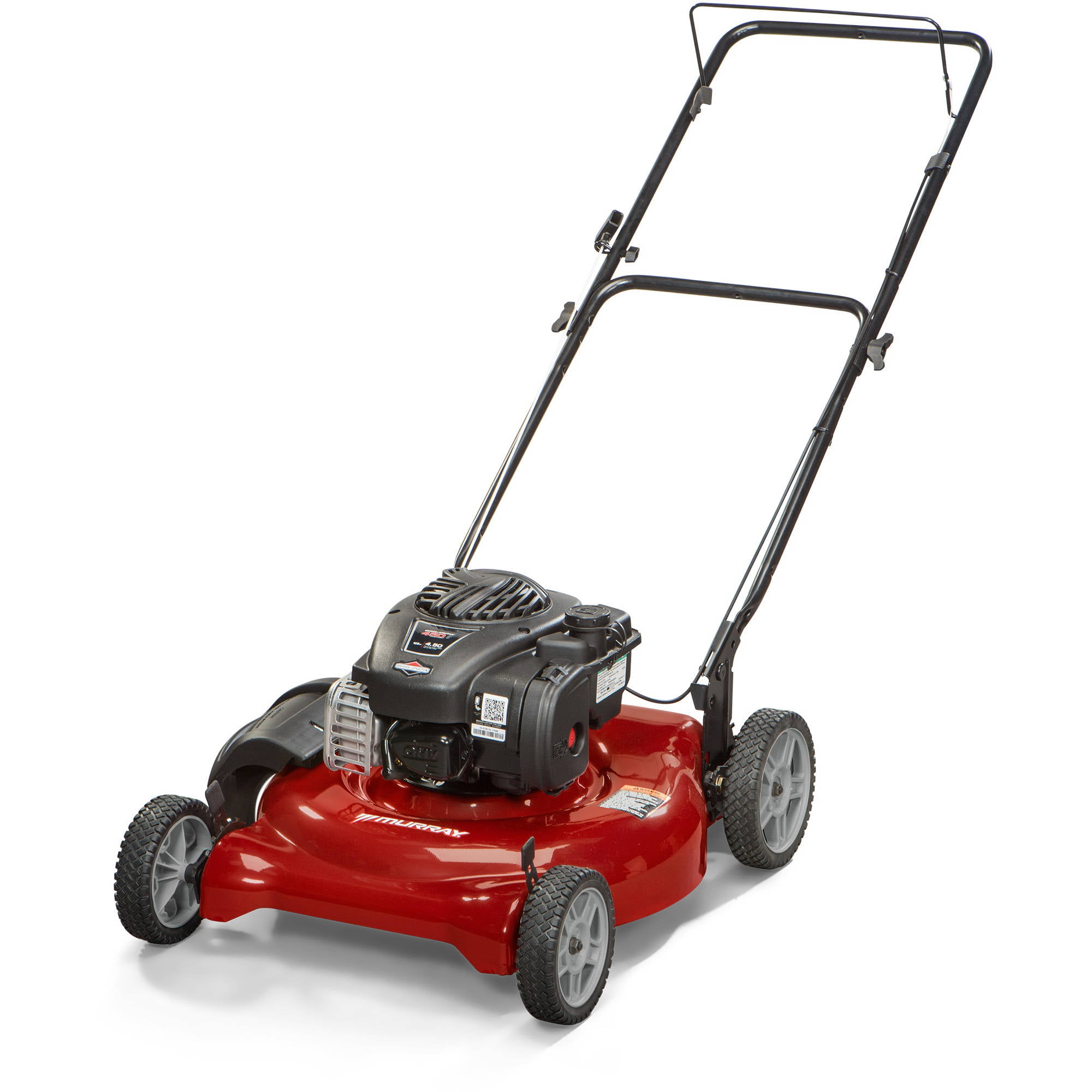 "Murray 21"" 125cc Gas Powered Low Wheel Push Lawn Mower Walmart"