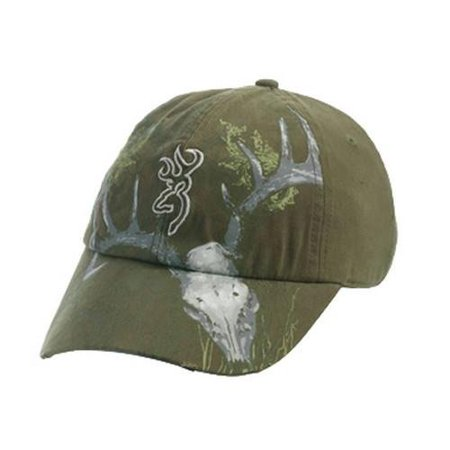 Cap  10 Point Olive