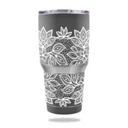 Skin Decal Wrap for Ozark Trail 30 oz Tumbler Floral Lace