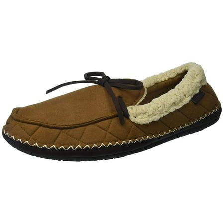 2b25e1a373ae18 Dearfoams - Dearfoams Men s Mfs Moc With Whipstitch - Walmart.com