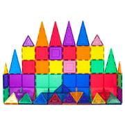 PicassoTiles 60 Pieces Clear 3D Magnetic Building Blocks Tiles Set