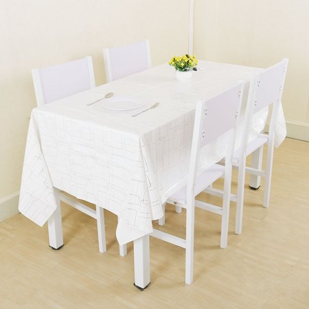 Stylish Oblong Rectangle 78 X 54 Inch Tablecloth Cover