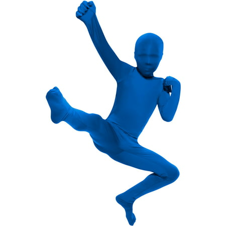 Blue Skin Suit Child Halloween Costume (Blue Morph Suits)