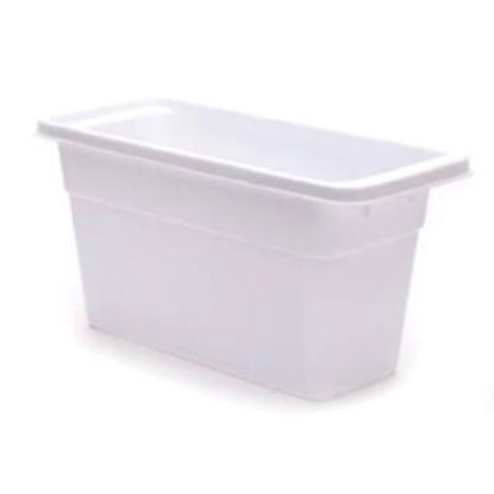 White Ice Cubes (White Ice Cube Bin Holds 4 Full Trays Of Loose Cubes Only)