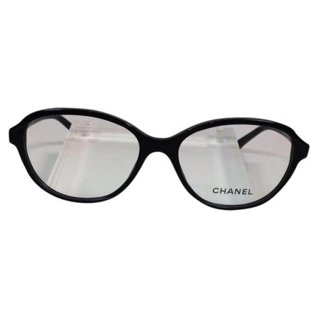 Like New Chanel 3316 501 Black Plastic Eyeglasses (Chanel Rhinestone Eyeglasses)