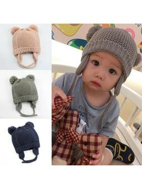 Cute Toddler Kids Girl Boy Baby Infant Winter Warm Crochet Knit Hat Beanie Cap