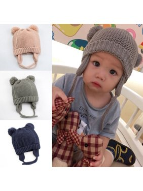 c5dba6a43cc Product Image Cute Toddler Kids Girl Boy Baby Infant Winter Warm Crochet  Knit Hat Beanie Cap