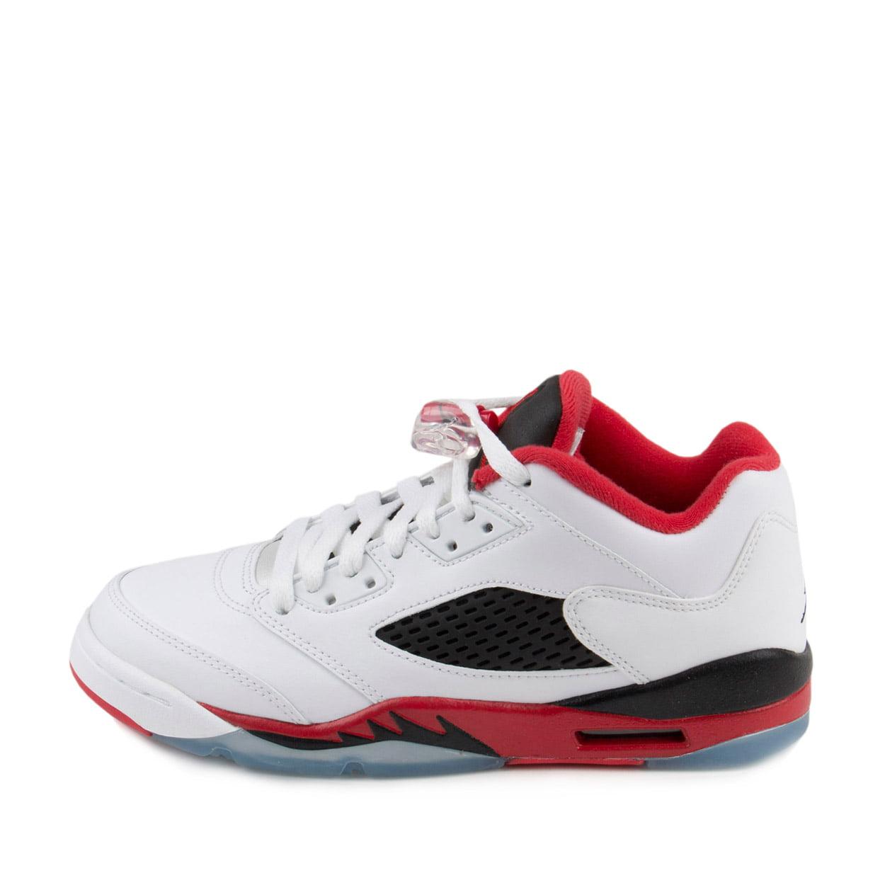 """314338 101 /""""Fire Red/"""" Men/'s Sneakers Brand New Air Jordan 5 Retro Low GS"""