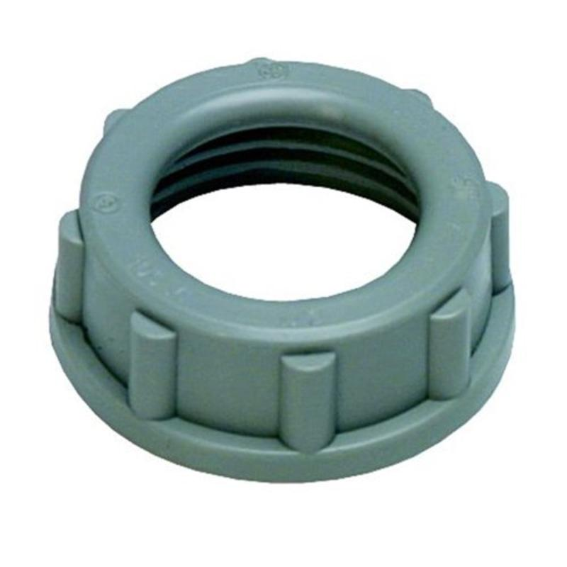 "Rigid 1"" Plastic Insulating Bushing, 1-Pack Sigma Electric Conduit 49323"