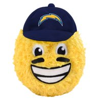 "Los Angeles Chargers 5"" Eye Black Teamoji Plush Toy"