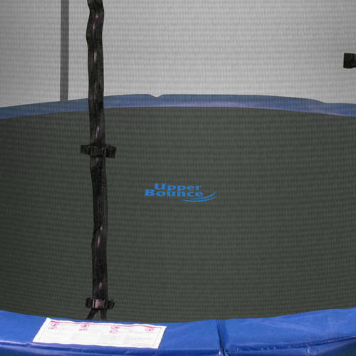Upper Bounce 14' Trampoline and Enclosure Set Equipped with the New Easy Assemble Feature (Box 1 of 2)