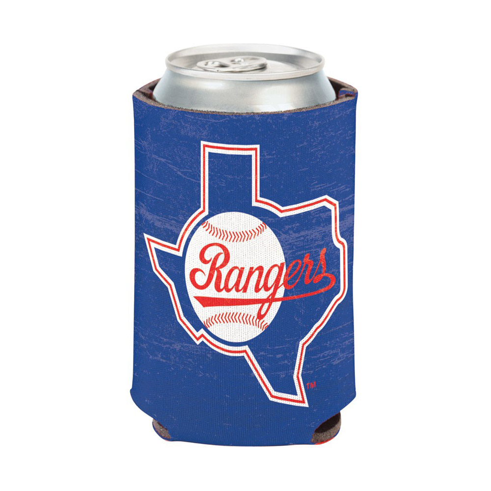 Texas Rangers WinCraft Cooperstown Collection Can Cooler - No Size