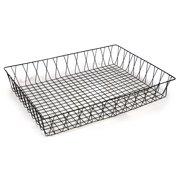 Deep Rectangular Wire Tray Basket 17in