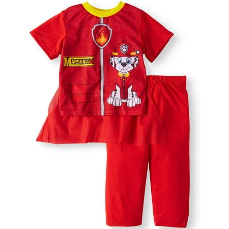 Bra Boy Short Set - PAW Patrol Short Sleeve Costume Play Pajamas, 2-piece Set (Toddler Boys)