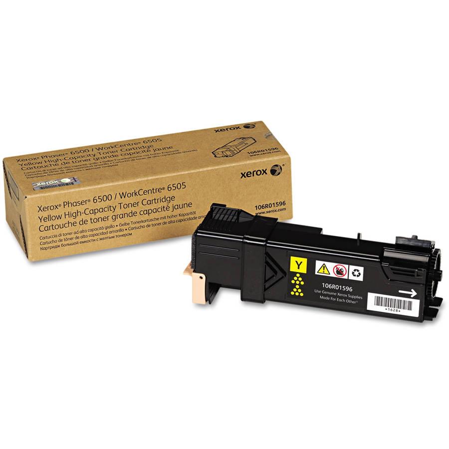 Xerox 106R01596 High-Capacity Yellow Toner Cartridge