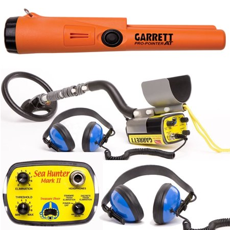 Garrett Sea Hunter Mark II Underwater Metal Detector with AT Pro-Pointer by
