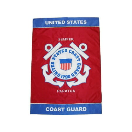 United States Coast Guard 12 x 18 inch garden flag (Coast Guard Garden)