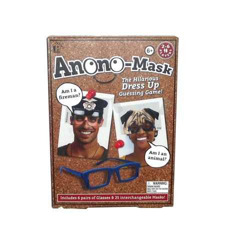 Paladone Anono-Mask Dress Up Guessing Game, 31 pieces - Gay Couple Dress Up Games