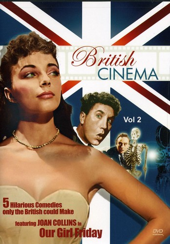 British Cinema Volume 2 Comedies (DVD) by VIDEO COMMUNICATIONS INC
