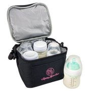 Breast Milk Baby Bottle Cooler Bag For Insulated Breastmilk Storage by Mommy Knows Best