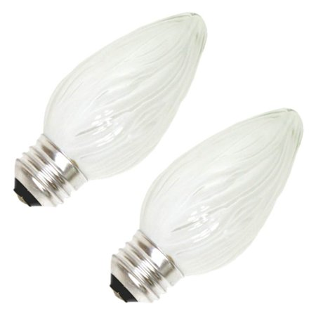 GE 73123 - 40FM/W/CF2-TP4 F15 Decor Flame Tip Light Bulb