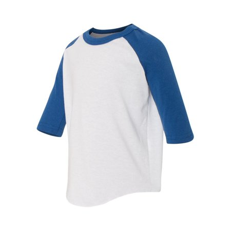 db80e38bb1b Augusta Sportswear - Toddler Three-Quarter Sleeve Baseball Jersey - 422 -  Walmart.com