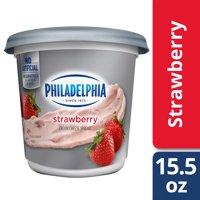 Philadelphia Strawberry Cream Cheese Spread, 15.5 oz Tub