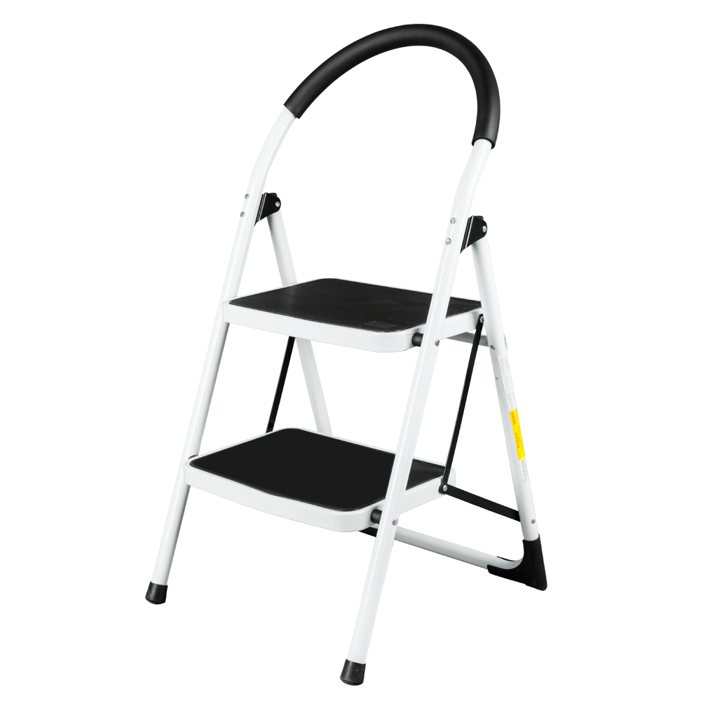 Ubesgoo Steel Folding 2 Step Ladder 330lbs Capacity