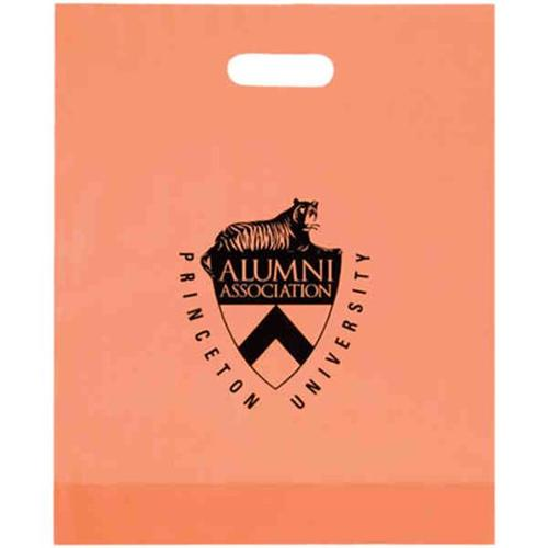 AAB 19FD15184 15 inch x 18 inch Frosted Die Cut Bag - Pack of 250