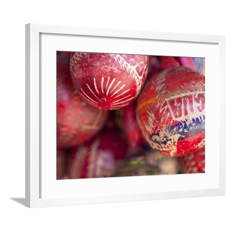 Masaya, Mercado Artesanias, National Artisans Market, Maracas, Nicaragua Framed Print Wall Art By Jane Sweeney