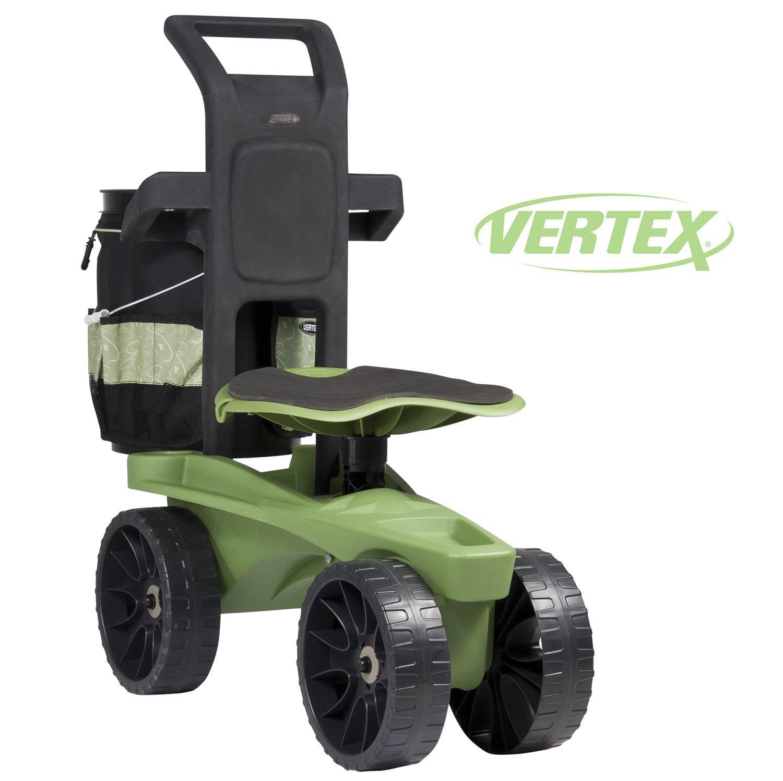 premium ltv rolling seat scoot  vertex  height adjustable swivel seat easy  pushpull