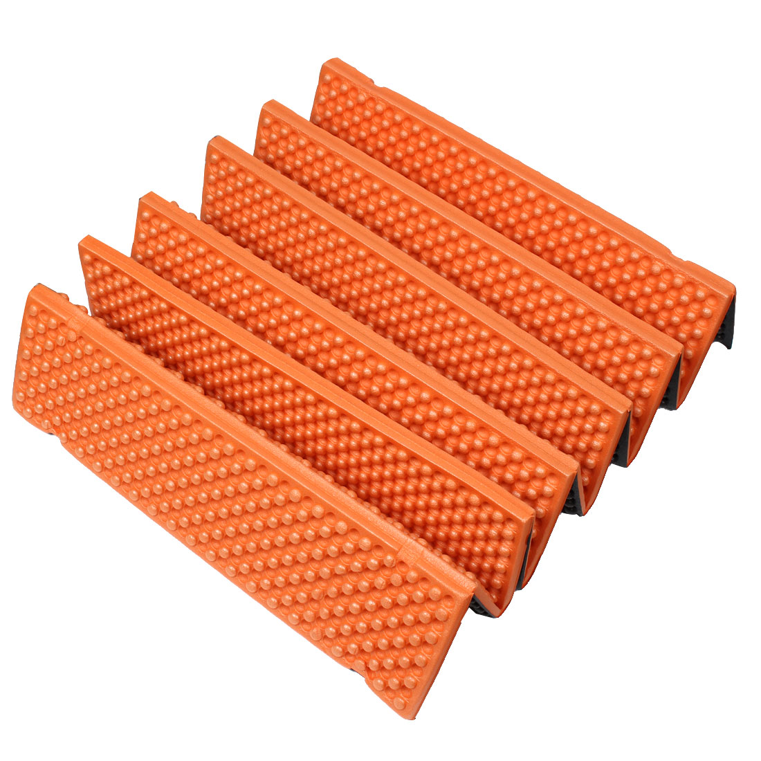 Hiking Mountaineering Camping Picnic Tent Foldable Mat Sleeping Foam Pad Orange