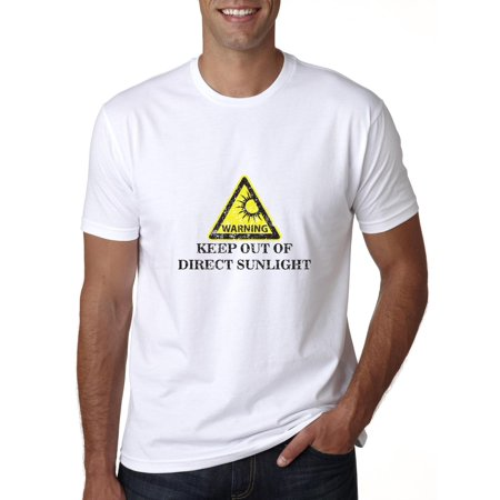 Warning Keep Out Of Direct Sunlight - Funny Beach Design Men's