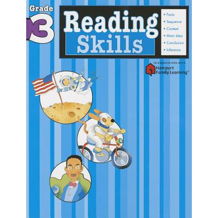 Reading Skills: Grade 3 (Flash Kids Harcourt Family Learning) (Paperback) - The Flash Kids